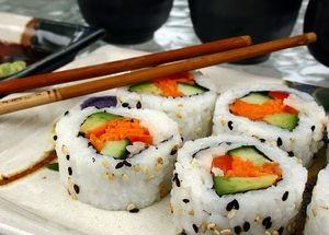 производство суши и роллов